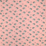 Jersey, Baumwolle, tierisch, 19186-012, rosa