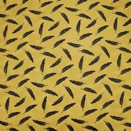 Bombaž, poplin, peresa, 19322-034, rumena