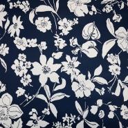 Saten, pamuk, cvjetni, 19328-008