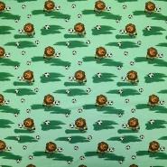 Jersey, Baumwolle, für Kinder, 19339-021, grün