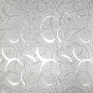 Umetno usnje Sekiz, 19351-3, srebrna