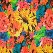 Umjetna koža Digital, cvjetni, 19388-193