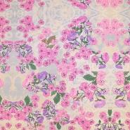 Jersey, viskoza, digital, cvjetni, 19389-14