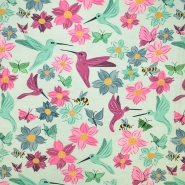 Jersey, viskoza, digital, cvjetni, 19389-40