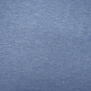 Triko materijal, melanž, 19203-251, plava