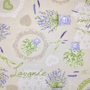 Deko, tisak, impregniran, cvjetni, 18277-6060 - Svijet metraže
