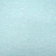 Jersey, Melange, 13336-245, mintblau