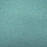 Jersey, melanž, 13336-247, turkizna