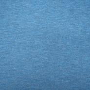 Jersey, Melange, 13336-250, blau