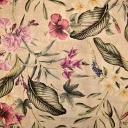 Deko, Druck, digital, floral, 19510-052