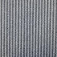 Deko žakard, črte, 19521-15, modra