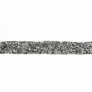 Trak, kristali, 20 mm, 18044-105, grafitna