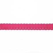 Spitze, gestickt, 19557-007, pink
