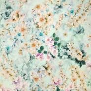 Jersey, viskoza, filamentna, cvetlični, 19542-3