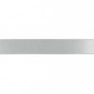 Trak, saten, 15mm, 15459-1120, siva