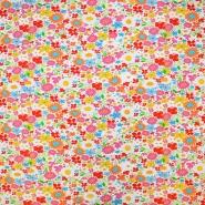 Jersey, Baumwolle, floral, 19563-050, weiß