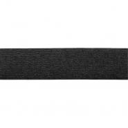 Elastikband, 25mm, Pailletten, 19567-31370, schwarz