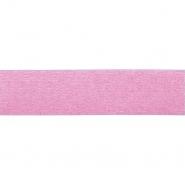 Elastikband, 25mm, Pailletten, 19567-31360, rosa