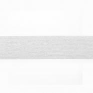 Elastika, 25mm, bleščice, 19567-31368, bela
