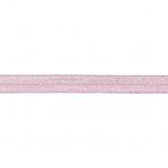 Elastikband, Rand, Glitter, 16200-31310, rosa