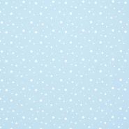 Pamuk, popelin, zvijezde, 15933-7, plava