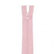 Reißverschluss, spiralig 20cm, 4mm, 18303-533, rosa
