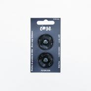 Pritiskači, prišivni, 30mm, 19591-130, črna