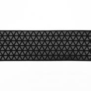 Elastikband,  dekorativ, 50mm, 19598-002, schwarz
