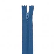 Reißverschluss, spiralig 40 cm, 04 mm, 18304-620, blau