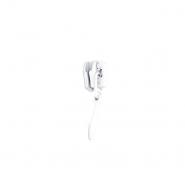 Ključek za zadrgo na meter 3mm, 19592-501, bela