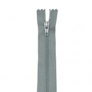 Zatvarač, spiralan 40 cm, 04 mm, 18304-717, siva