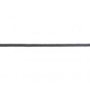 Vrvica, pletena, 6 mm, 18938-027, siva