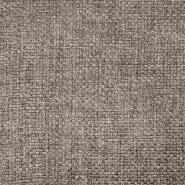 Deko, Jacquard, melange, 19617-007, braun-grau