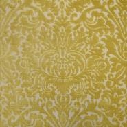 Deko žakard, stilni, 19618-006, rumena