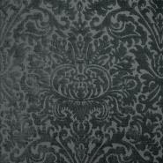 Deko žakard, stilni, 19618-007, sivo zelena