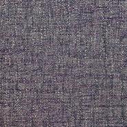 Dekostoff, Jacquard, Melange, 19611-007, grau-violett