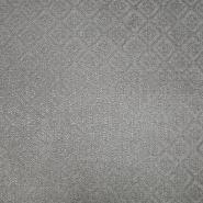 Deko, Jacquard, Ornament, 19613-002, grau-beige