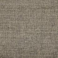 Dekostoff, Bellamia, 19601-007, schwarz-beige - Bema Stoffe