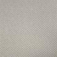 Deko žakard, kare, 19639-008, siva