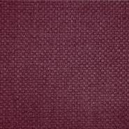 Deko žakard, karirast, 19621-002, bordo