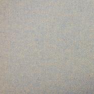 Deko žakard, melanž, 19635-704, plavo-bež