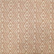 Deko Jacquard, geometrisch, 19641-010, beige-braun