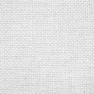 Deko žakard, karirast, 19621-101, bijela