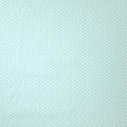 Pamuk, popelin, zvijezde, 19657-011, mint