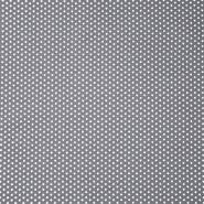 Bombaž, poplin, zvezde, 19657-013, siva
