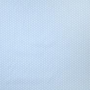 Pamuk, popelin, zvijezde, 19657-020, plava