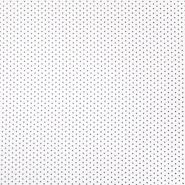 Pamuk, popelin, zvijezde, 19657-113, sivo-bijela