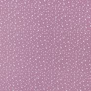 Bombaž, poplin, pike, 19672-114, roza
