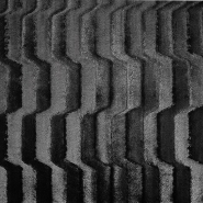 Krzno, umjetno, kratkodlako, 19681-069, crna
