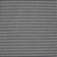 Tkanina, elastična, pepita, 19691-069